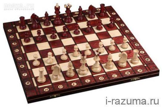 Шахматы Деревянные Сенатор 41х41 см